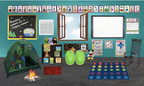 Bitmoji Virtual Classroom- EDITABLE