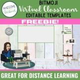 Bitmoji Virtual Classroom Freebie