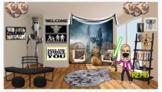 Bitmoji Virtual Classroom-Star Wars Theme 2 (with Facemask)
