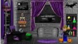 Bitmoji Virtual Classroom Template Halloween History & Gam