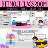 SPANISH VERSION Bitmoji Virtual Classroom | Meet the Teacher