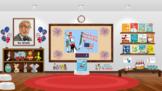 Bitmoji Virtual Dr. Seuss Read Across America Classroom Template