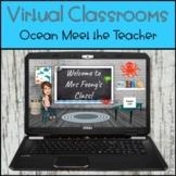 Bitmoji Virtual Meet the Teacher Open House - Ocean Theme
