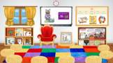 Bitmoji Virtual Read Across America Day Template