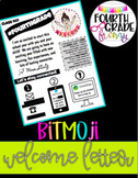 Bitmoji Welcome Letter - Google Drive Template