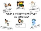 Bitmoji- When is it okay to interrupt?