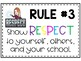 Bitmoji Whole Brain Teaching Classroom Rules