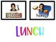 Bitmoji Word Wall, Passes, and Lunch Cards