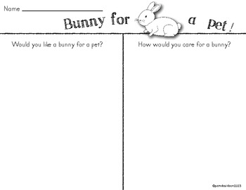 Bits About Bunnies: Literacy Mini Unit!