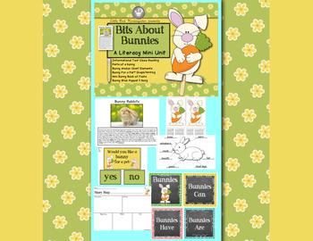 Bits About Bunnies: Literacy Mini Unit!