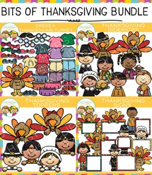 Bits of Thanksgiving Clip Art Bundle