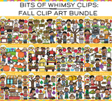 Bits of Whimsy Clips: Fall Clip Art GROWING Bundle