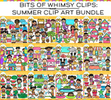 Bits of Whimsy Clips: Summer Clip Art GROWING Bundle