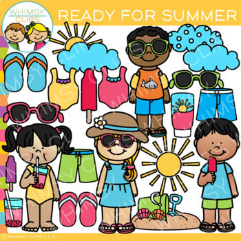 Bits of Whimsy Clips: Summer Clip Art Bundle