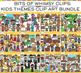 Bits of Whimsy Clips: Themes Clip Art GROWING Bundle