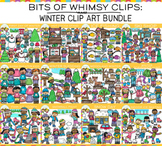 Bits of Whimsy Clips: Winter Clip Art Bundle