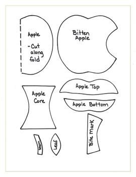 Bitten Apple Sequence: Fall Art Activity