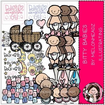 Bitty Babies clip art - COMBO PACK- by Melonheadz