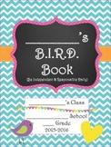 Bitty Birdies Student Planner 2015-2016 B.I.R.D. Book