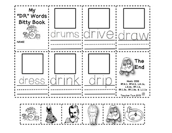 Bitty Books: Blends and Digraphs