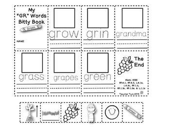 Bitty Books Bundle: Short Vowels, Long Vowels, Blends, and Digraphs
