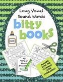 Books Long Vowel Sounds Worksheets | Word Families Kindergarten 1st | CVCe Words