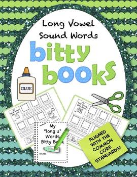 Bitty Books:  Long Vowel Sounds