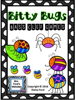 Bitty Bugs Bass Clef Games