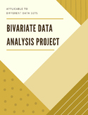 Bivariate Data Analysis Project