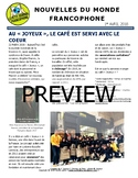 Biweekly news summaries for French students: April 1st, 2018