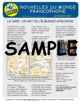 Biweekly news summaries for French students: February 12, 2017