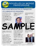 Biweekly news summaries for French students: January 29, 2017