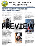 Biweekly news summaries for French students: March 18, 2018
