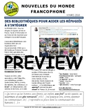 Biweekly news summaries for French students: March 4, 2018