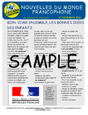 Biweekly news summaries for French students: November 27, 2016