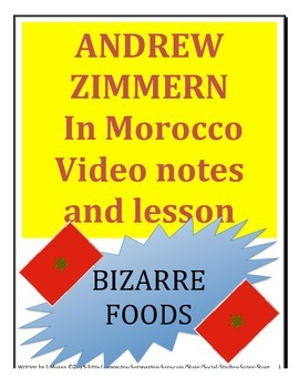 Bizarre Foods in Morocco - MIDDLE SCHOOL