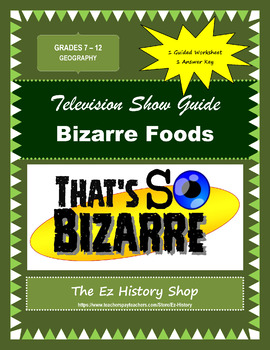 Bizarre Foods: Maine Northeastern Geography