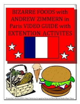 Middle School - Bizarre Foods with Andrew Zimmern Video Guide - Paris