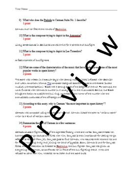 Bizet's Carmen Suite: History and Context
