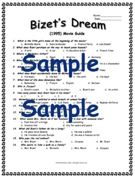 Bizet's Dream (1995) Movie Guide