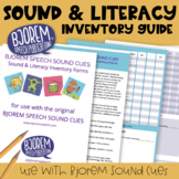 Bjorem Speech Sound Cues - Sound & Literacy Inventory Forms