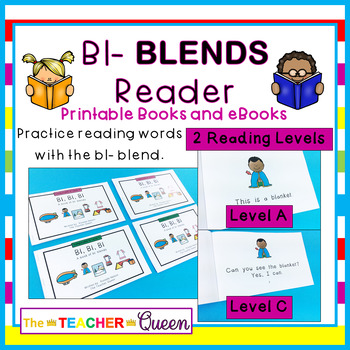 Bl- Blend Readers Levels A and C (Printable and Projectable)