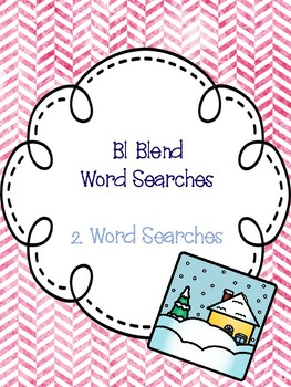 Bl Blend Word Searches!