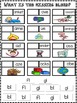 L Blends Bl, Fl, and Gl Word Work Printables