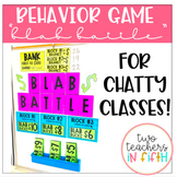 Blab Battle: A Behavior System for Chatty Classes! [editable]