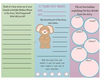 Blabber Mouse Brochure