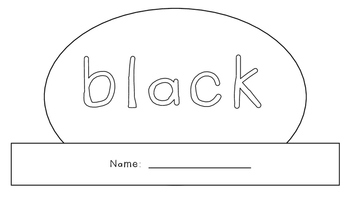 Black Activity Book!