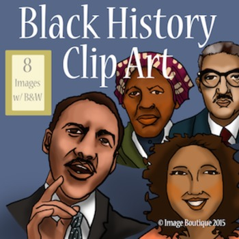 Black / African American History Month Clip Art