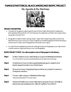 Black American BioPics Project