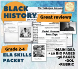 Black History Month NO PREP ELA & Main Idea Packet